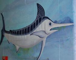 YMCA Aquatic Center Mural