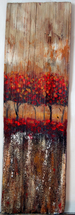 Abstract Tree Line