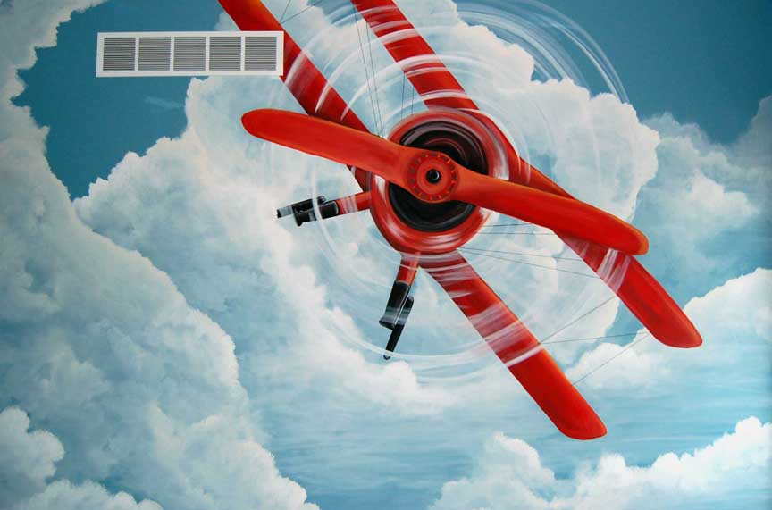 Theme: airplane