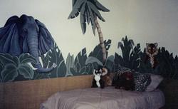 Jungle Theme: Tiger and Elephant