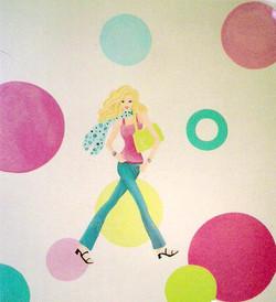 Teen theme: Girls and circles