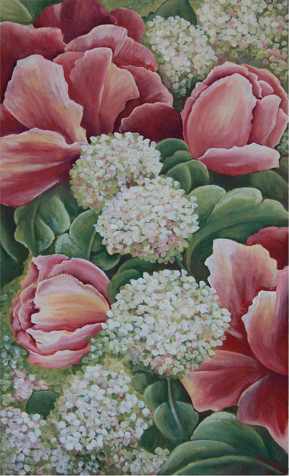 Hydrangeas - Artists Proof