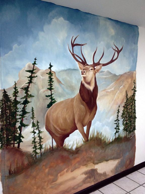 Elk Mural