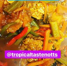 tropicaltastenotts #brownstewchicken #brownstewfish #jamaicanfood #caribbeanfood #nottinghamfood #currymutton