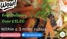 Free Delivery in Nottingham