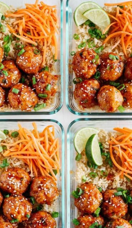 Meal Prep meat balls