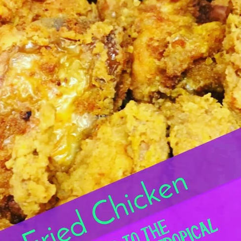 Fried Chicken _tropicaltastenotts #caribbeanfood #friedchicken #southernfriedchicken #nottinghamfood #jamaicanfood