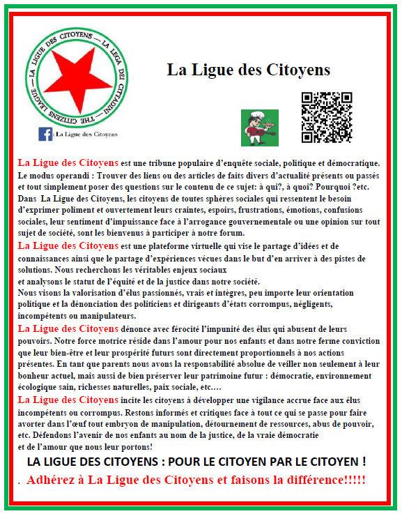 MANIFESTO la ligue des citoyens 18-08 20