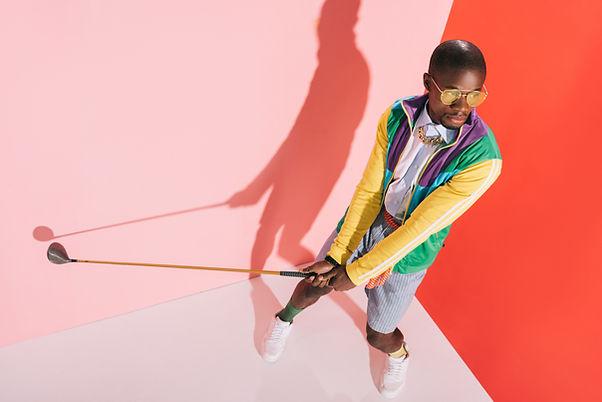 Stylish Golfer