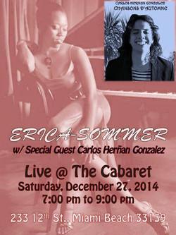 Erica-Sommer Live at the Cabaret