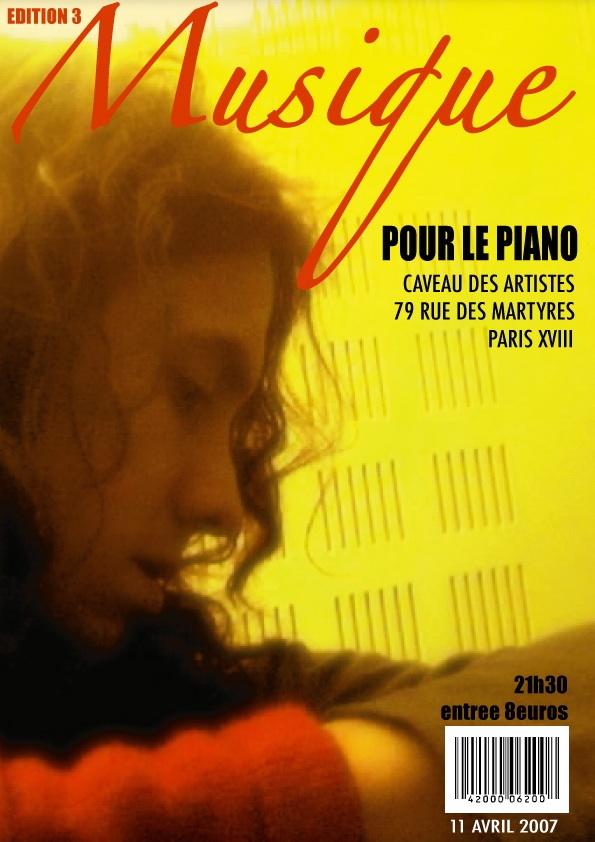 Musique pour le piano 3