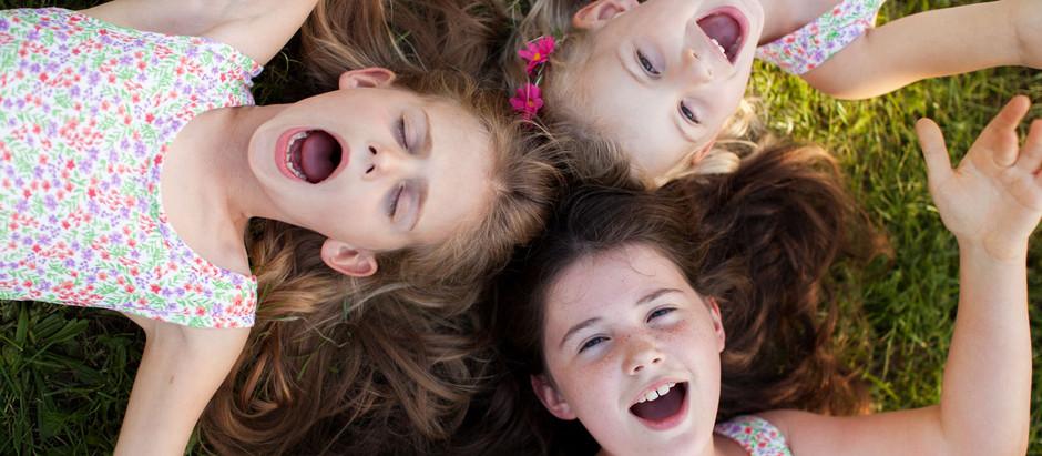 Ella, Maya i Lucy - czyli wyjątkowo dziewczęca sesja rodzinna <3