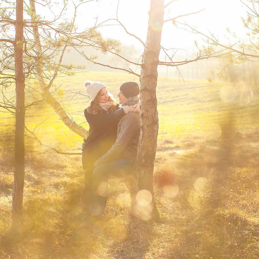 fotosesja zaręczynowa