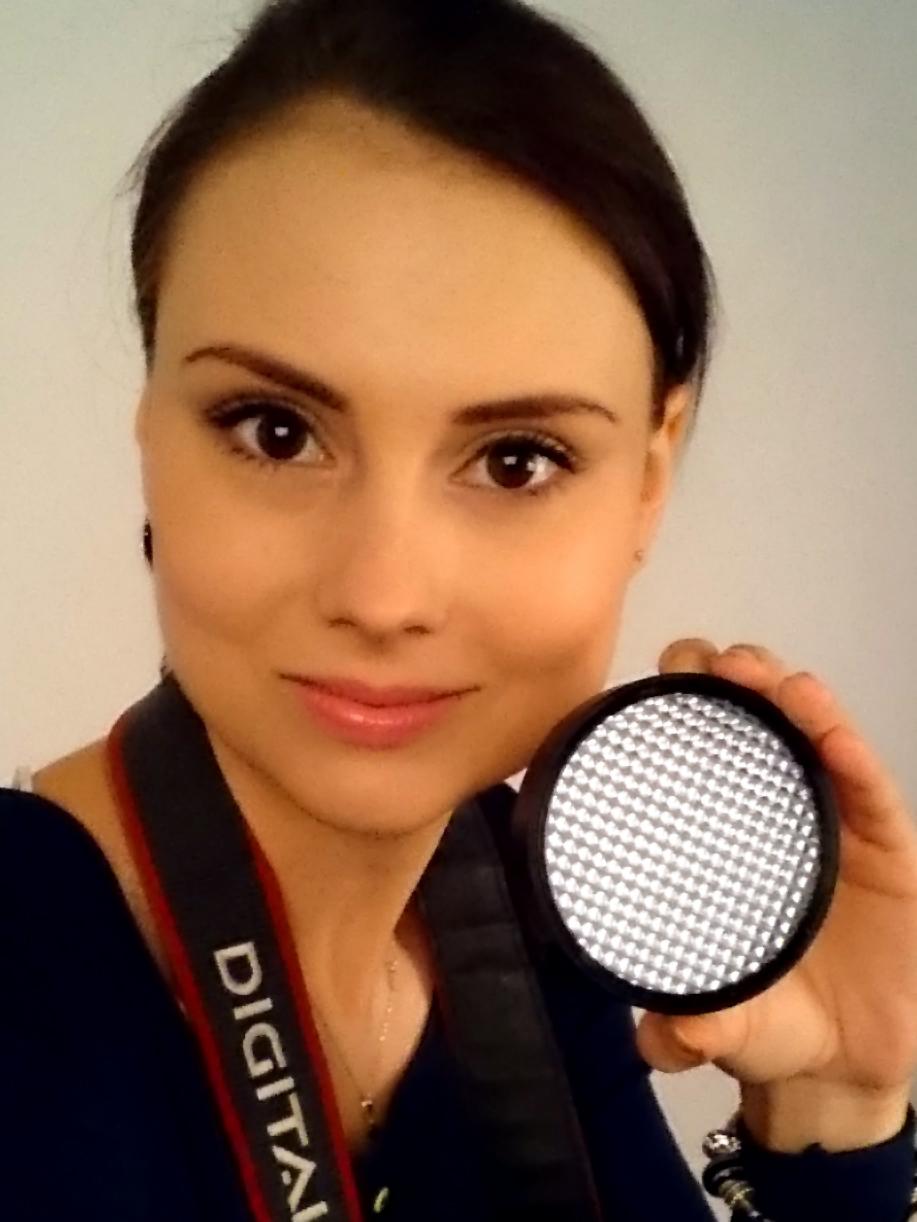 Selfie z ExpoDisc musi być!