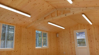 Lighting and Power to Outbuilding