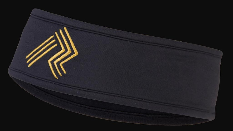 Ripl Effect Headband-Black and Gold