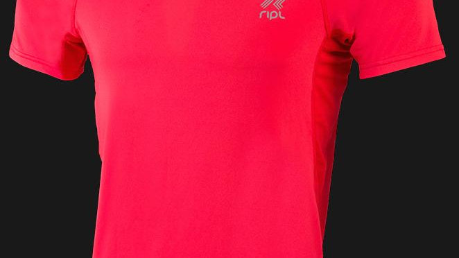 Inspire Fitness T-Shirt-Fire Red