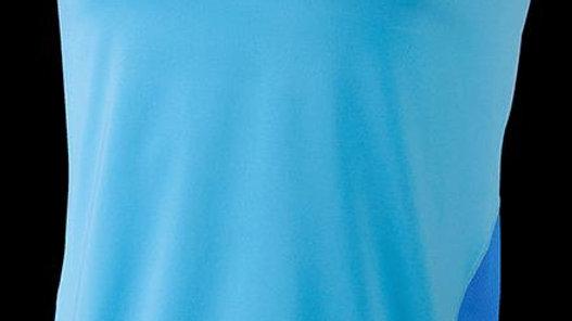 Unisex Inspire Fitness Vest-Sky Blue