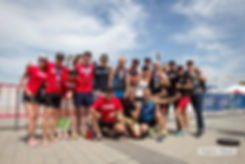 команда по триатлону Redhead