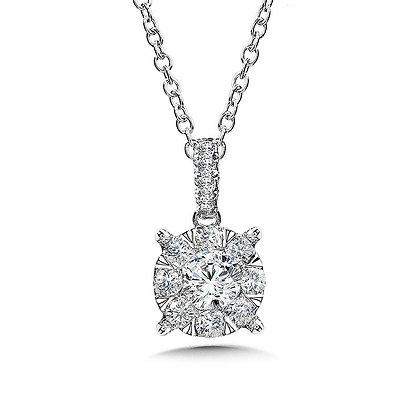 Mirage Cluster Diamond Pendant