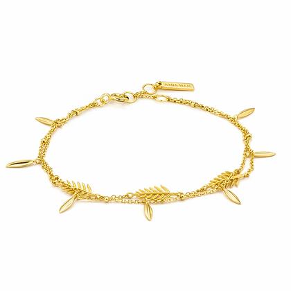 Gold Tropic Double Bracelet