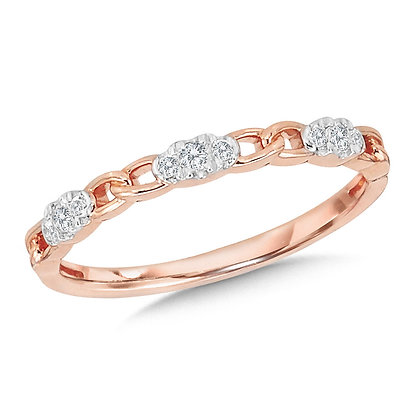 10K Chain-Link Stackable Band