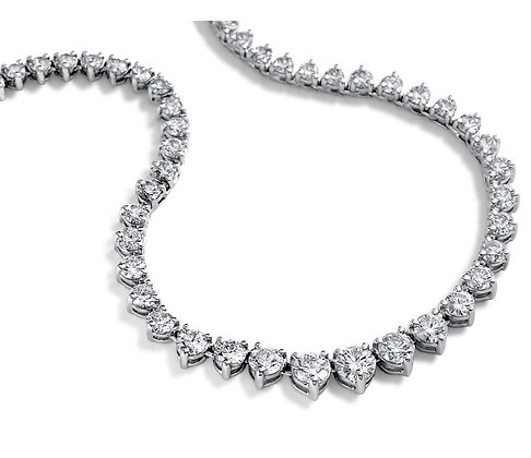 Eternity Diamond Necklace