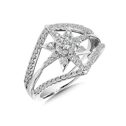Wish Upon a Star Diamond Ring