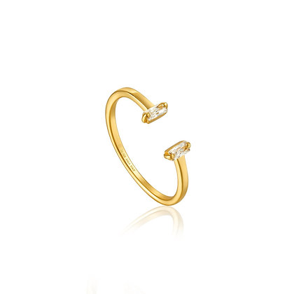 Gold Glow Adjustable Ring