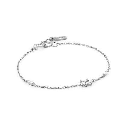 SIlver Cluster Bracelet