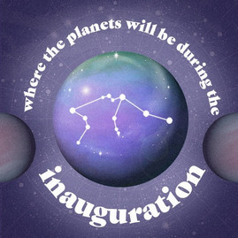 Where The Planets Will Be During Inauguration