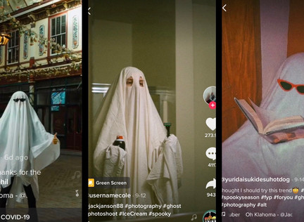 Mostly Ghostly, Who Let the Tears Out On TikTok