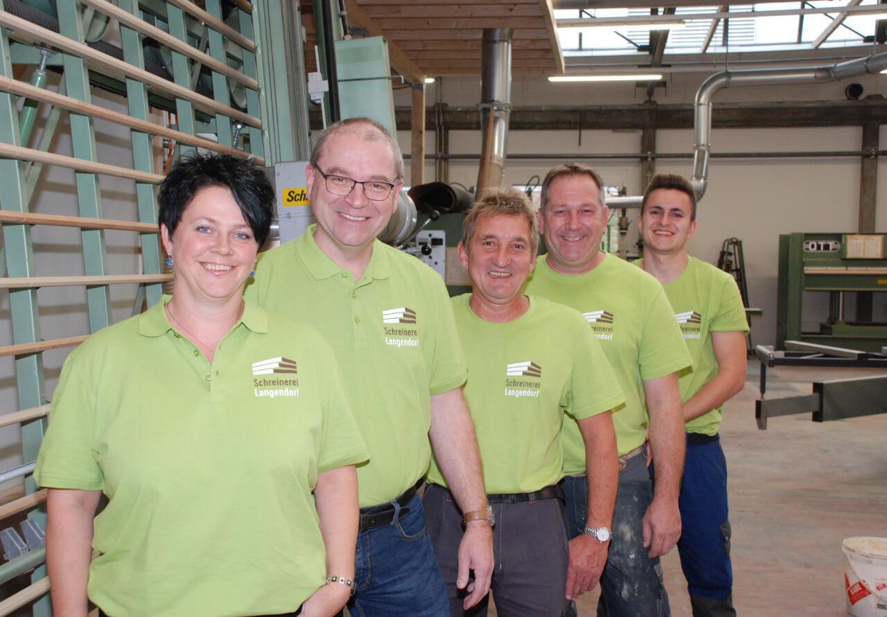 Unser Team - Schreinerei Langenendorf AG.jpg