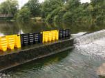 Floodfence Wassersperre zum Schutz vor Hochwasser