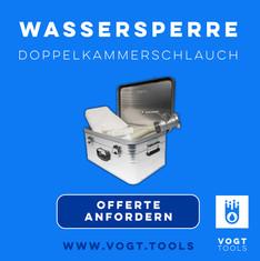 Türabdichtung Doppelkammerschlauch Öko-Tec I Wassersperre I Jetzt bei vogt tools I Mobiler Hochwasserschutz
