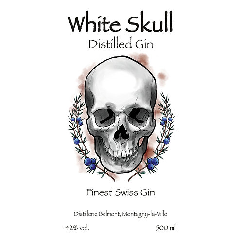 Gin - White Skull