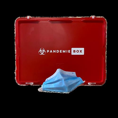PANDEMIEBOX XS | 50 Stk Hygienemasken und 1 Liter Desinfektionsmittel