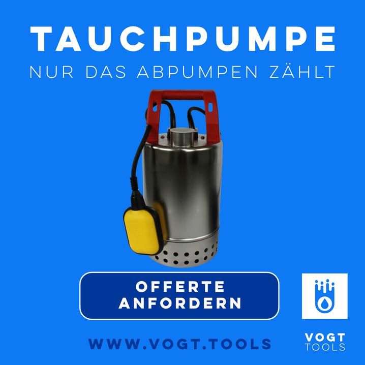 Zehnder E ZWM 65 A - die Unkaputtbare Magnetpumpe für Dauereinsatz I Jetzt bei vogt tools I Mobiler Hochwasserschutz Schweiz