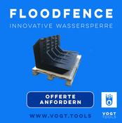 FLOODFENCE Wasserpserre Schweiz vogt tools