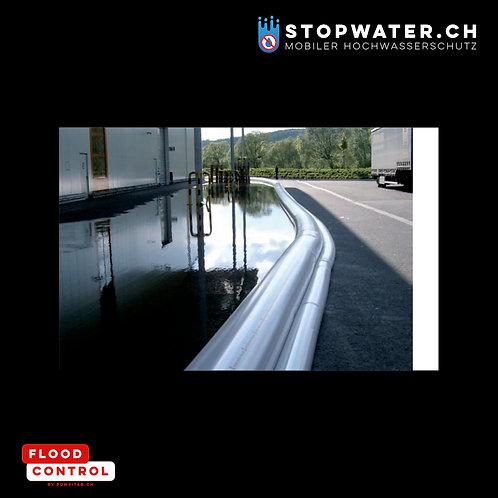 Doppelkammerschlauch-Wassersperre 150 m I Höhe 55 cm