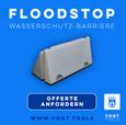 Floodstop-Wasserbarriere die innovative Wassersperren bei vogt tools I Mobiler Hochwasser Schutz Schweiz