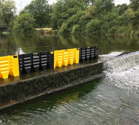 FLOODFENCE - Wassersperre Stauhöhe 45 cm