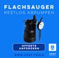 FLACHSAUGER FSP 330 I Das Flachsaugset ist überall einsetzbar I Jetzt bei vogt tools I Mobiler Hochwasserschutz Schweiz
