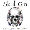Skull-Gin Distillerie Belmont Logo 2019.