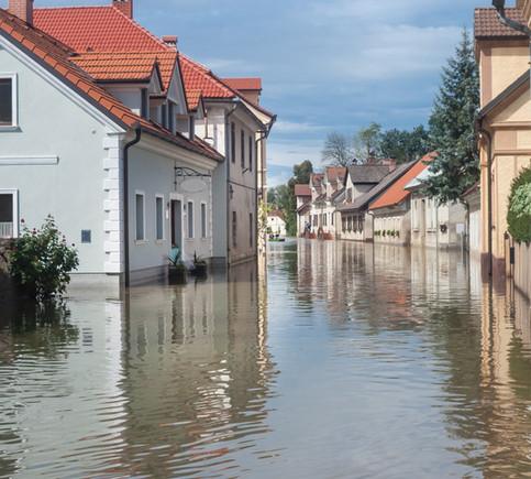 Hochwasser - eine oft unterschätzte Gefahr.