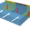 Thumbnail: FLOODFENCE - Wassersperre Stauhöhe 45 cm
