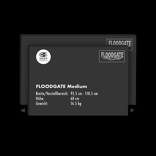 FLOODGATE-Wassersperre Medium I 95.5 - 118.5 cm