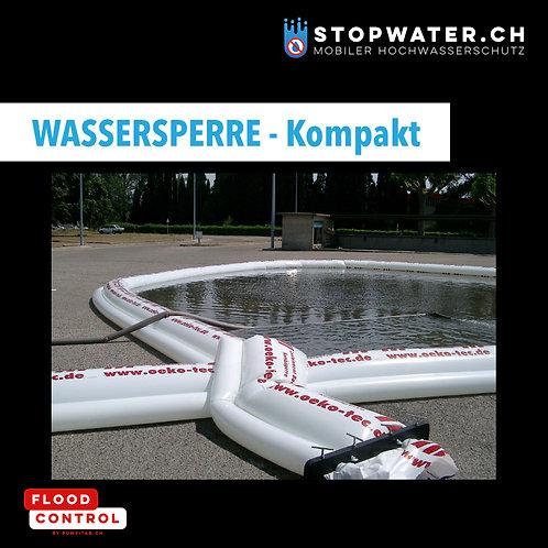 Wassersperre - Doppelkammerschlauch 150 m / Stauhöhe 35 cm