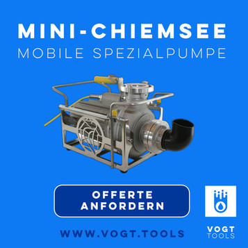 MINI-CHIEMSEE Spezialpumpe in der PUMPITAB-BOX
