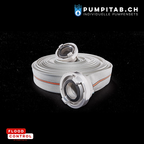 Flachschlauch-Set T3F mit Kupplungen